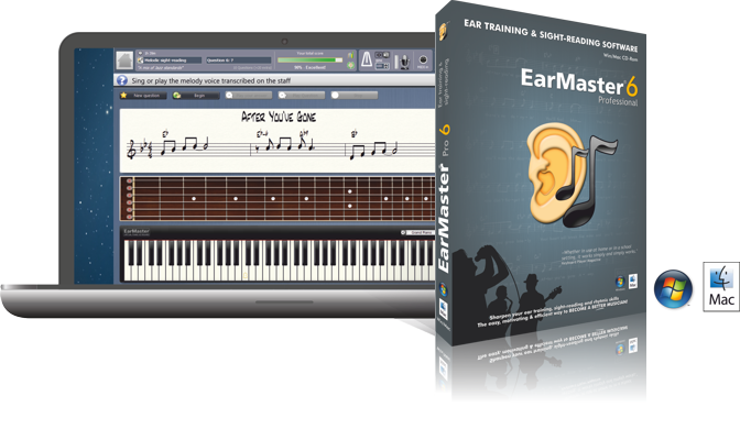 Train your musical ear with EarMaster