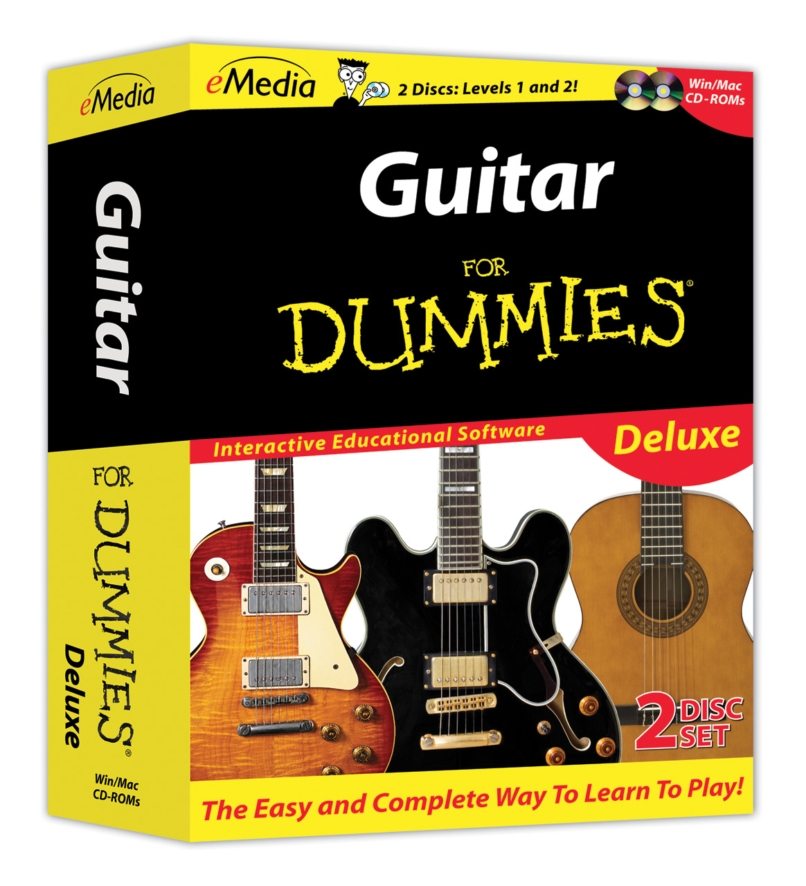 guitar for dummies deluxe. Black Bedroom Furniture Sets. Home Design Ideas