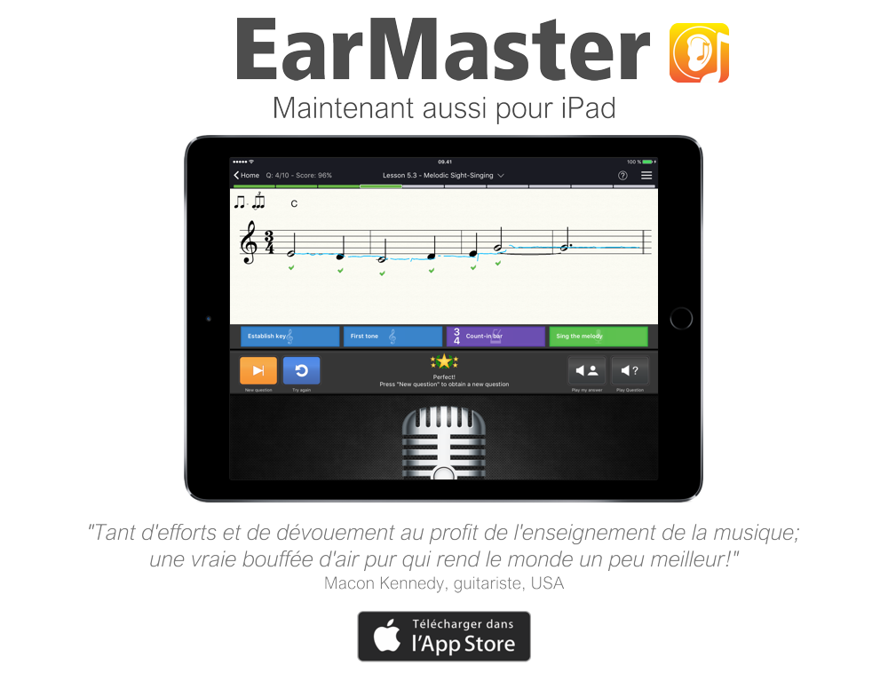 earmaster now for ipad fr