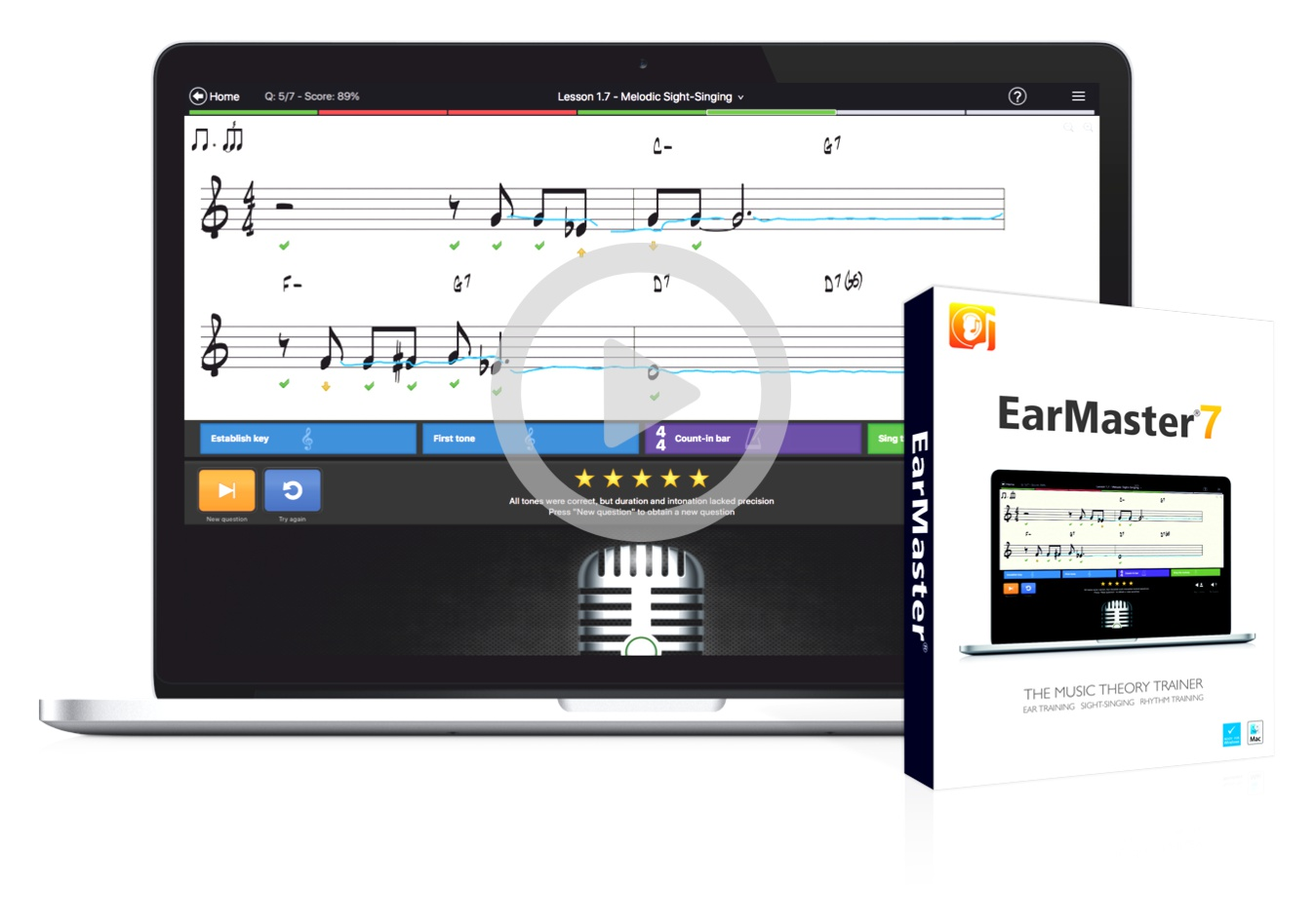 EarMaster 7 - The #1 Music Theory & Ear Training Software